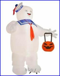 10 FT GIANT GHOSTBUSTERS STAY PUFT MAN Airblown Lighted Yard Inflatable GEMMY