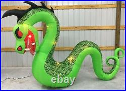 10ft Gemmy Airblown Inflatable Prototype Halloween Giant Serpent #73897