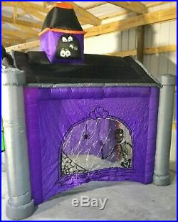 10ft Gemmy Airblown Inflatable Prototype Halloween Haunted House Tunnel #73887