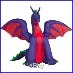 11 FT ANIMATED DRAGON Halloween Lighted Yard Airblown Inflatable NEW 2018