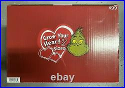 11ft THE GRINCH AIRBLOWN INFLATABLE with CHRISTMAS TREE SHIPS FREE