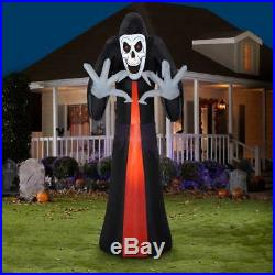 12 ft. Pre-Lit Inflatable Reaper Airblown