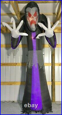 12ft Gemmy Airblown Inflatable Prototype Halloween Giant Reaper #220585