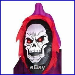 12ft Giant Lighted Airblown Grim Reaper Halloween Inflatable Outdoor Yard Decor
