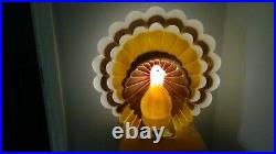 1995 Don Featherstone Turkey Thanksgiving Union Products blow mold Works Great