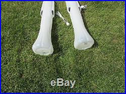 (1) Blow Mold Don Featherstone Halloween Stick Ghost Lighted Yard Decor 36