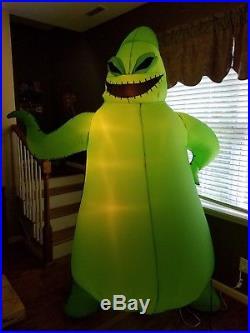 2005 Nightmare Before Christmas Oogie Boogie 8ft Halloween Inflatable Gemmy