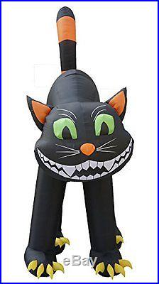 20 Foot Animated Halloween Inflatable Black Cat #28L