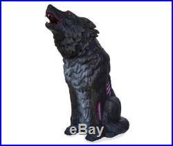 28 Halloween LED Animated Howling Werewolf Prop Haunted House Decor
