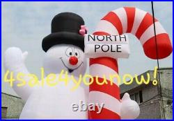32' Foot Massive Inflatable Frosty The Snow Man Custom Made New