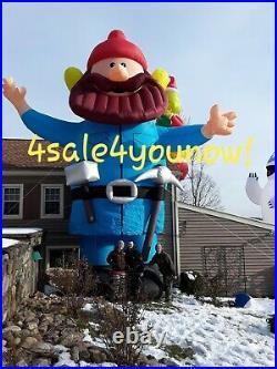 35' Foot Yukon Cornelius Custom Made Christmas Inflatable Rudolph New