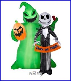 6.5ft Lighted Jack Skellington Halloween Inflatable 25th Anniversary Edition