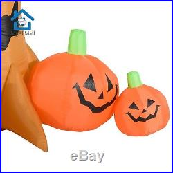 7.5' Spooky Scene Halloween LED Lighted Outdoor Airblown Inflatable Yard Decorat
