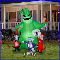 7 Ft OOGIE BOOGIE W LOCK SHOCK BARREL Airblown Lighted Yard Inflatable Pre-Order
