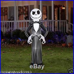 84 Halloween Jack Skellington Tim Burton Airblown Inflatable Yard Decor