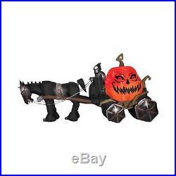 85 Halloween Reaper Projection Airblown