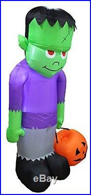 8 Foot Huge Halloween Inflatable Frankenstein Monster Decoration Indoor Outdoor