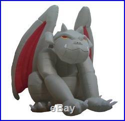 8 Foot Huge Halloween Inflatable Gargoyle Monster 2013 Yard Decoration