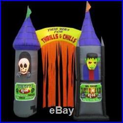 9.5 ft. Inflatable Archway House of Horrors NIB