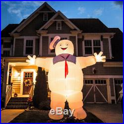 9' GIANT GHOSTBUSTERS STAY PUFT Halloween Inflatable New