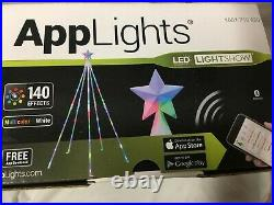 APPLIGHTS 5.8Ft LED Tech-Tree 140 Effects Phone Apps Control Brilliant Lightshow