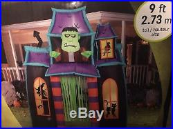 Animated 9ft archway Halloween Inflatable Blowup
