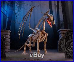 Animated Skeleton Dragon Halloween Indoor Outdoor