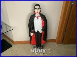 Bela Lugosi Dracula Vampire Halloween Blow Mold Don Featherstone 736