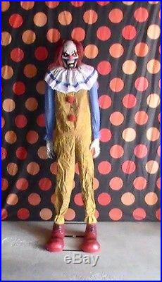 Brand New Animated Twitching Clown Halloween Prop