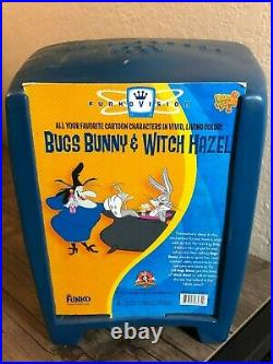 Bugs Bunny and Witch Hazel Funkovision Funko TV Set Looney Tunes