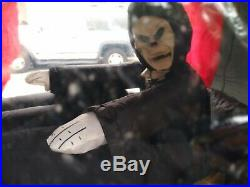 Carriage Hearse With Reaper Rising Coffin Gemmy Airblown 12 Halloween Inflatable