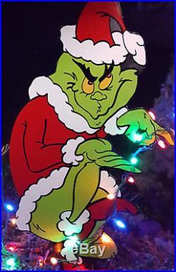 Christmas Grinch 5ft Yard Art Grinch