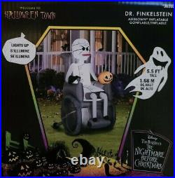 DR FINKELSTEIN NIGHTMARE BEFORE CHRISTMAS 5ft5 Airblown Inflatable