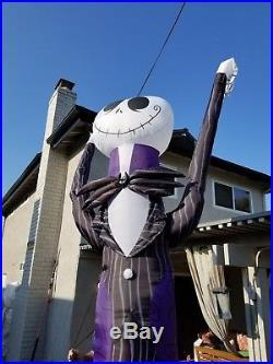 Disney- Nightmare Before Christmas -12 JACK SKELLINGTON- Inflatable RARE