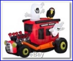 Ghost Rider Airblown Halloween Inflatable Yard Decor Gemmy New