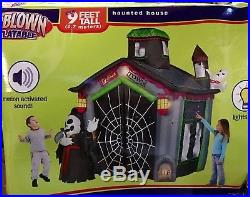 Gemmy 9 Airblown Inflatable Ghost Town Walk Through Haunted House, Sound Box