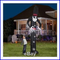 Gemmy Airblown Inflatable 12' X 4' Giant Skelton Halloween Decoration by Gemmy