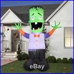 Gemmy Airblown Inflatable 12 X 9 Giant Monster Boy Halloween Decoration by Gemmy