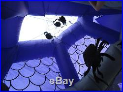 Gemmy Airblown Inflatable Haunted House Castle 12.5 ft. Tall Halloween Mansion