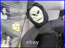 Gemmy Halloween 2007 inflatable Haunted House Walkthrough RARE Read Description