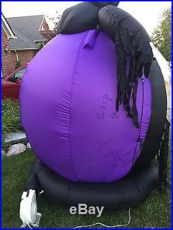 Gemmy Halloween 6 Whirlwind Globe Light Up Airblown Inflatable Yard Decoration