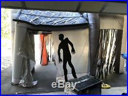 Gemmy Halloween Airblown Inflatable Haunted House Castle Blow Up Yard Decoration