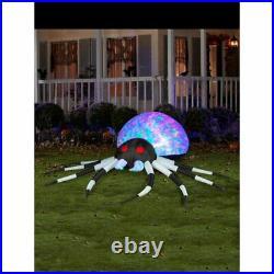 Gemmy Halloween Airblown Inflatable Spider Kaleidoscope Lightshow Spider IN HAND