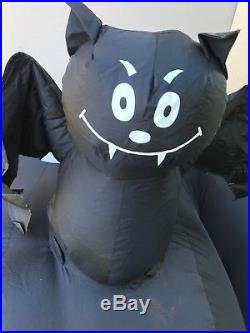 Gemmy Huge 12.5 Halloween Frankenstein Inflatable EUC