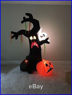 Gemmy Prototype Halloween Animated Shaking Tree Airblown Inflatable Blow Up Yard