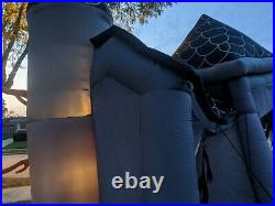 Gemmy inflatable 12 FT haunted house grim reaper RARE! Halloween prop lawn FAST