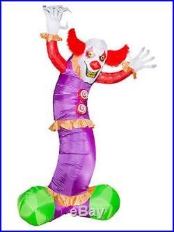 Giant Inflatable Clown Halloween Decor fnt
