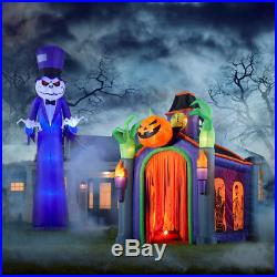 Grim Reaper Halloween 16ft Tall, Lighted, Inflatable Yard Decoration Scary Ghost