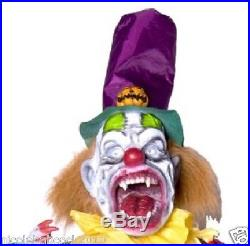 Halloween 5 Ft Animated Evil Twisted Clown With Teeth Prop Decoration