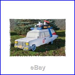 HALLOWEEN 9 Ft GHOSTBUSTERS ECTO 1 AMBULANCE Airblown Lighted Inflatable